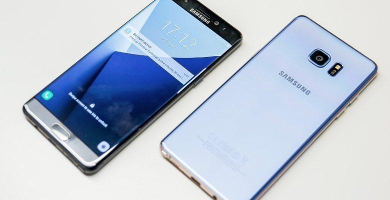 Un rendu 3D du Samsung Galaxy Note 8 diffusé sur internet