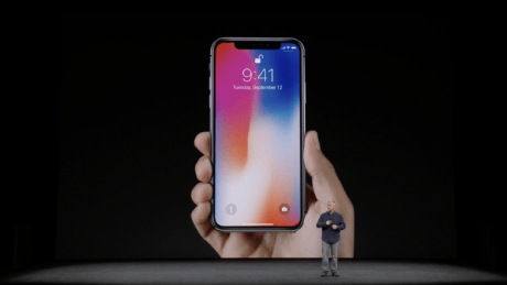 Apple présente l'iPhone X et l'iPhone 8