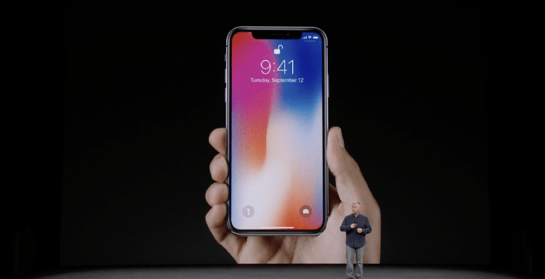 Apple présente l'iPhone X et l'iPhone 8